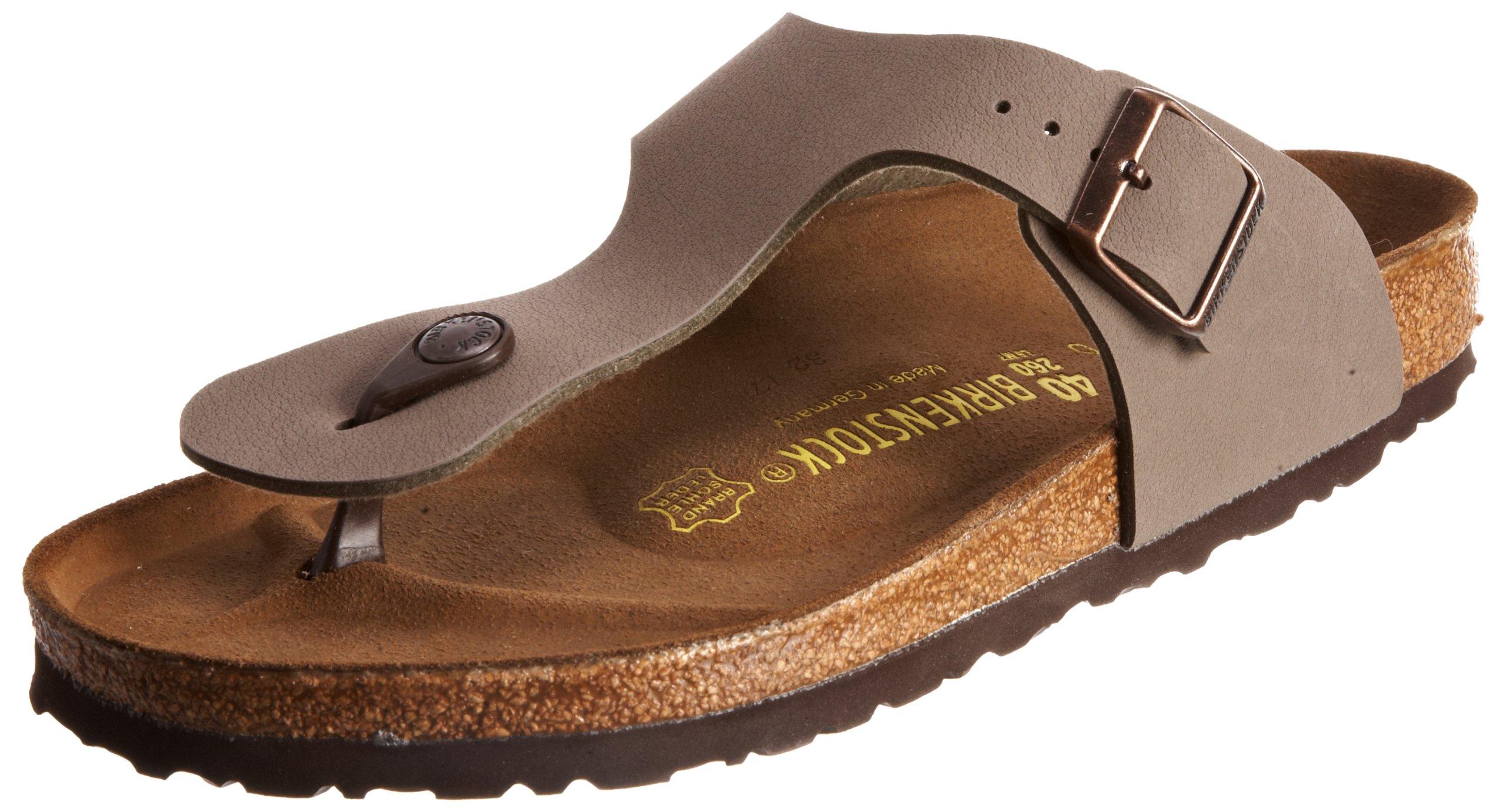 a8af6554f606 Galleon - Birkenstock Women´s Ramses Stone Birkibuc Sandals 36 M EU ...
