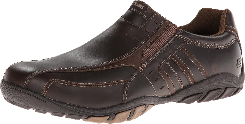 Skechers Dixon Lamar Zapatillas de Cuero Hombre: Amazon.es