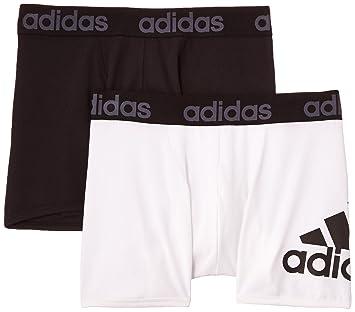 Adidas Men Essentials - Calzoncillos estilo boxer para (2 unidades), Hombre, color