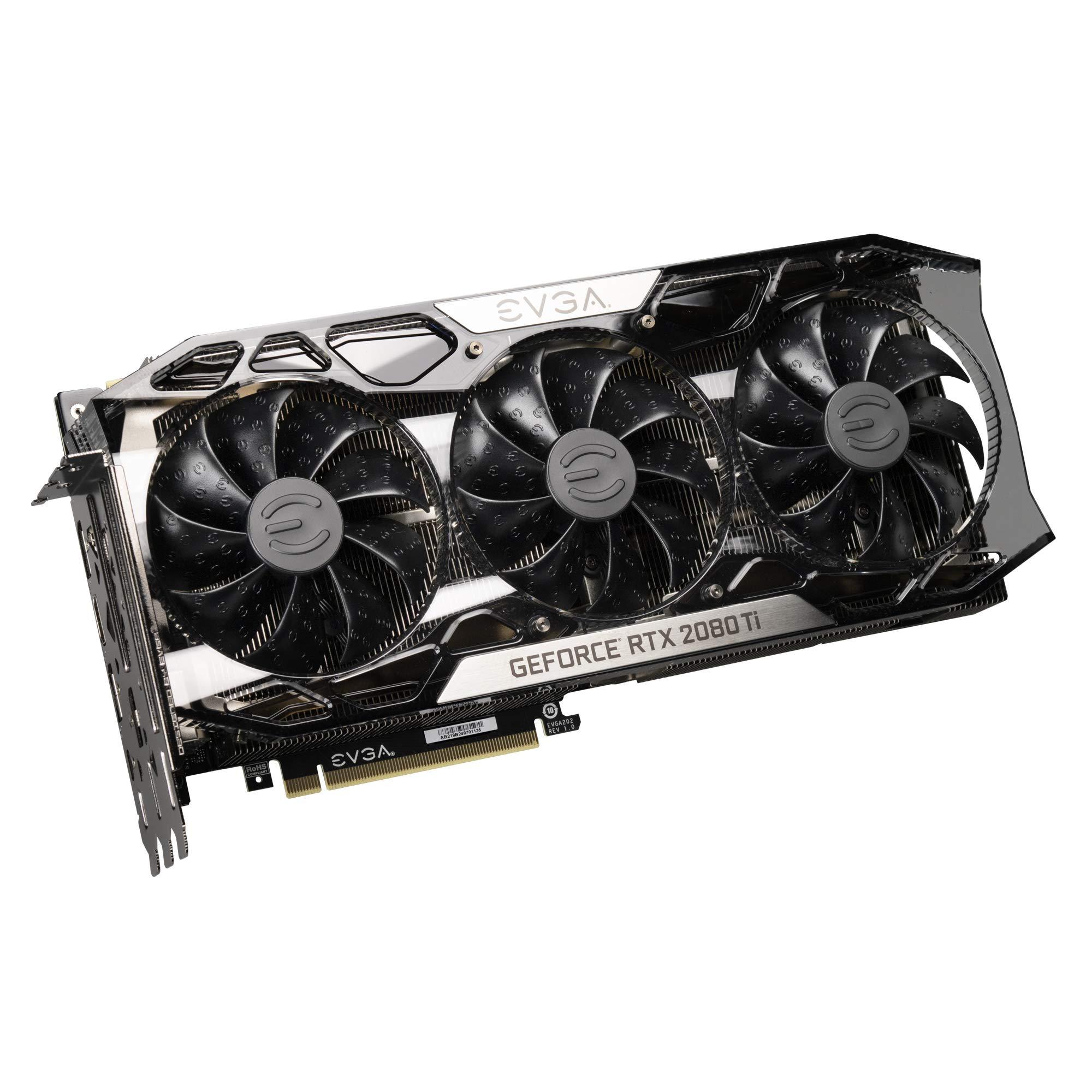 EVGA GeForce RTX 2080 Ti FTW3 Ultra Gaming, 11GB GDDR6, iCX2 & RGB LED Graphics Card 11G-P4-2487-KR by EVGA (Image #4)
