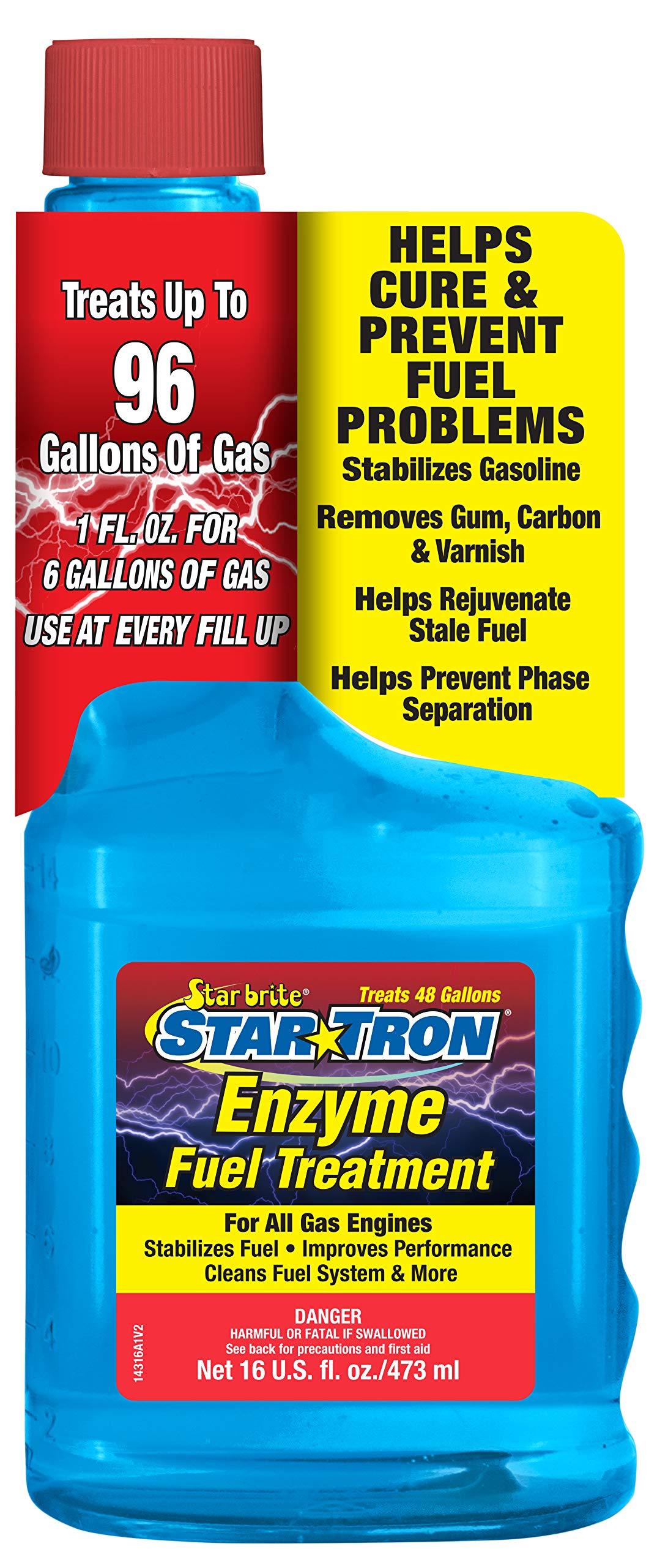 Star brite 14316 Star Tron Enzyme Fuel Treatment - 16 oz. by Star Brite