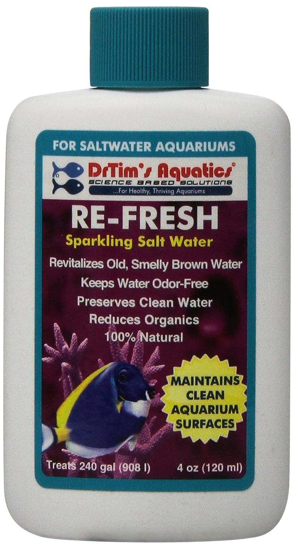 4-Ounce DrTim's Aquatics 251 Re-Fresh Aquarium Revitalizer for Salt Water, 4-Ounce