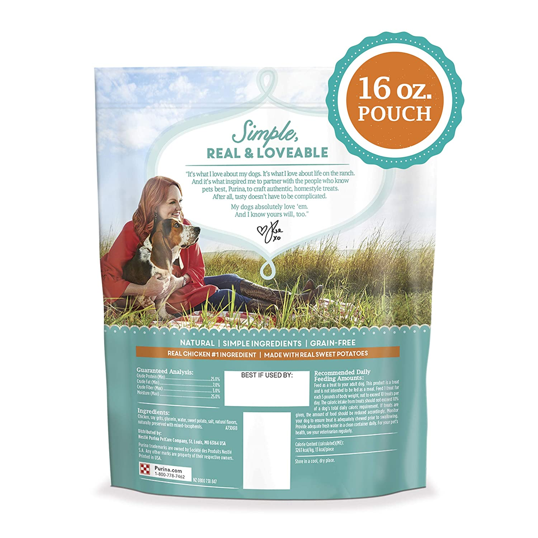 Amazon.com: The Pioneer Woman Grain Free Natural Dog Treats ...