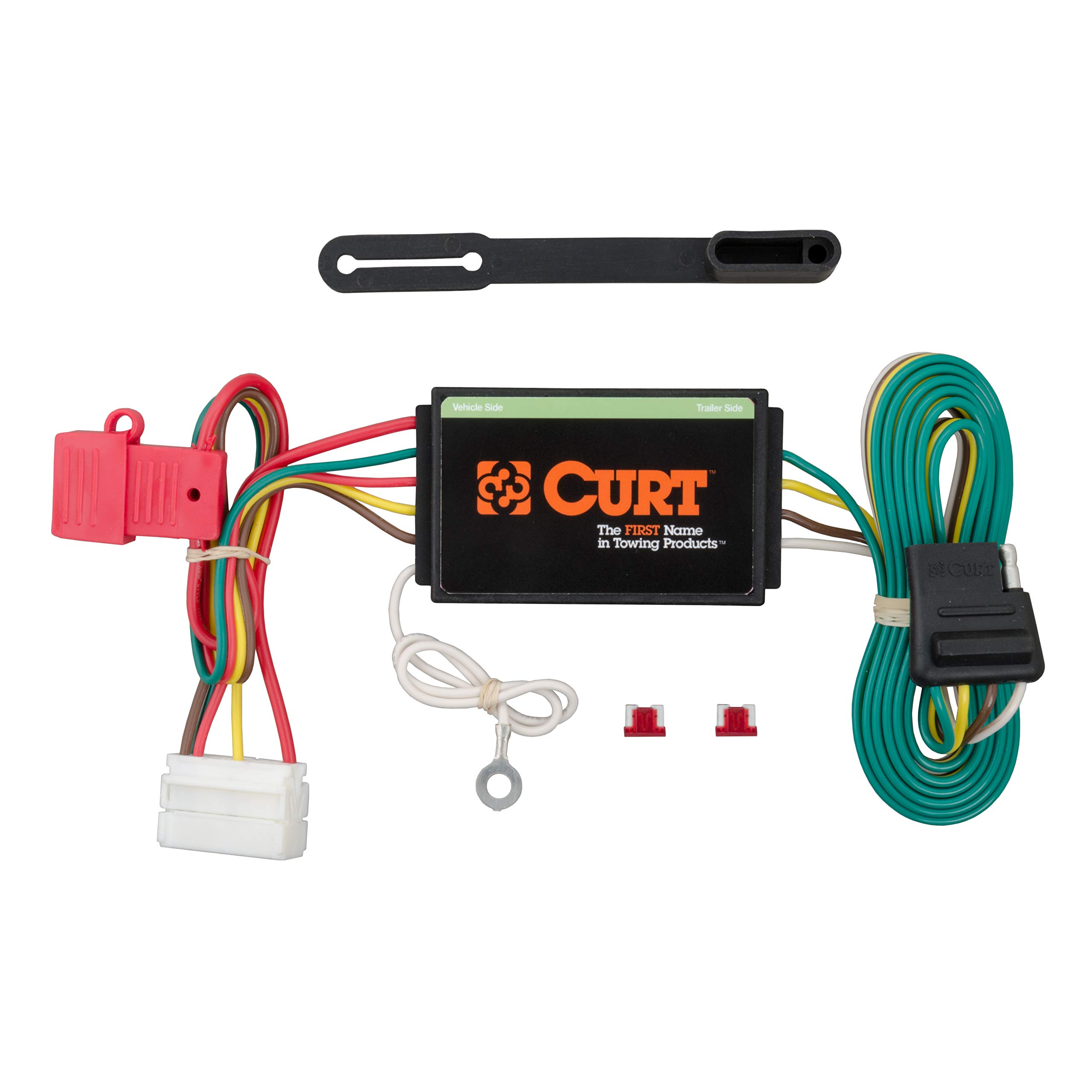 CURT 56192 Vehicle-Side Custom 4-Pin Trailer Wiring Harness for Select Acura MDX SUV by CURT