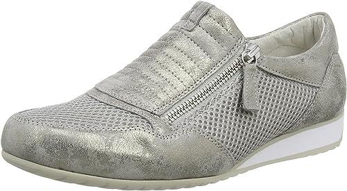 Gabor Damen Comfort Sneakers, grau