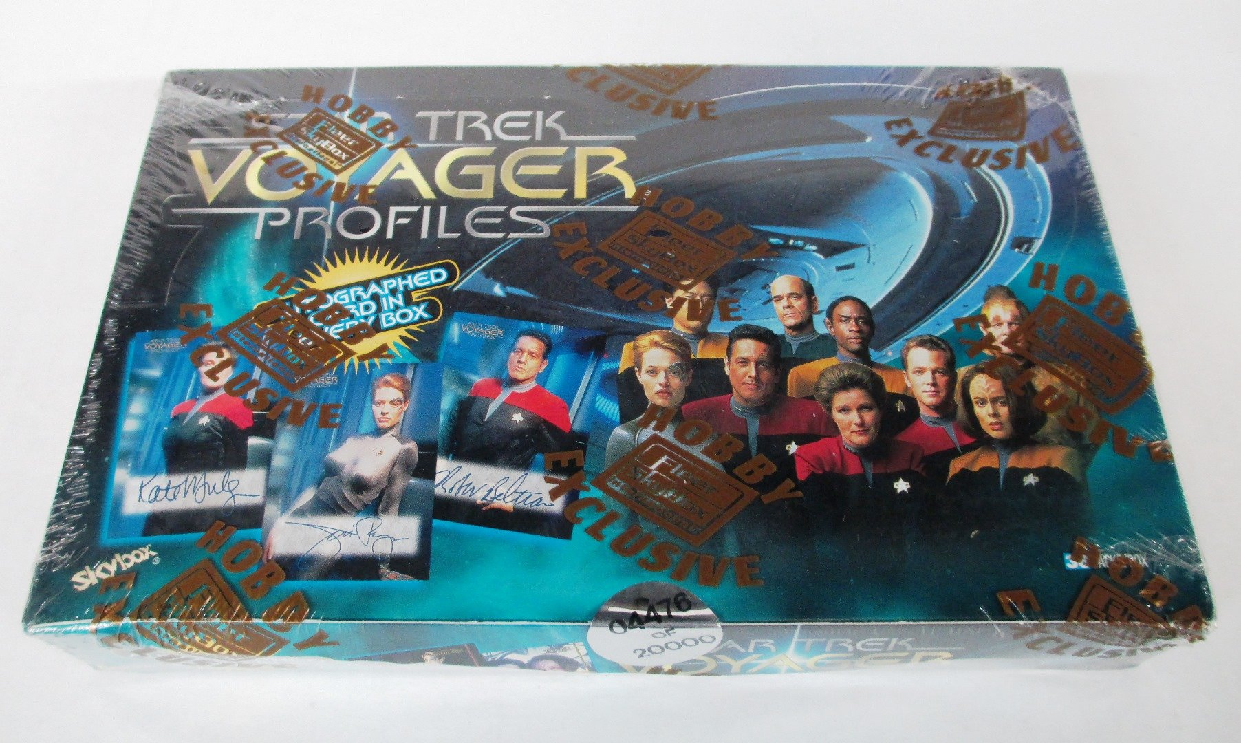 Star Trek Voyager Profiles Trading Cards Box Set - With Autographed Card! by Star Trek