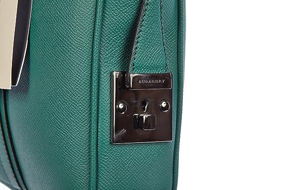 030f38b404b9 Amazon.com  Burberry briefcase attaché case laptop pc bag leather london  newburg green  Shoes