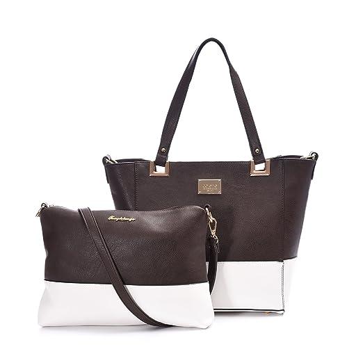 1af08a3341a64 Women Handbags Set, Big Sale Large Designer Tote Purse Shoulder Bag With  Small Cross Body Make Up Pouch