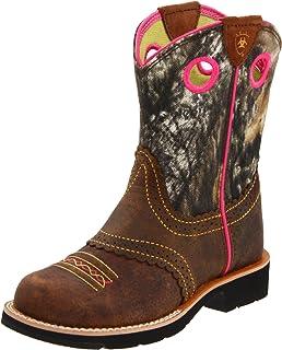 Amazon.com | Ariat Women's Fatbaby Cowgirl Western Cowboy Boot ...