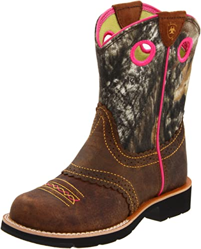 Amazon.com | Ariat Kids' Fatbaby Western Cowboy Boot | Boots