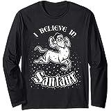 Santaur Santa Long Sleeve Shirt | Mythical Centaur Christmas
