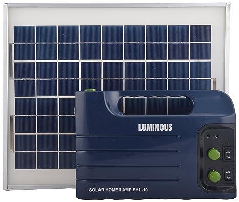 bf1e3a4f7 Luminous Tinplate Solar Home Lamp Blue