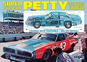 MPC Richard Petty 1973 Dodge Charger 1:16 Scale Model Kit