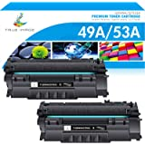 True Image Compatible Toner Cartridge Replacement for HP 49A Q5949A 53A Q7553A 49X Q5949X HP Laserjet 1320 1320n 3390 1160 13