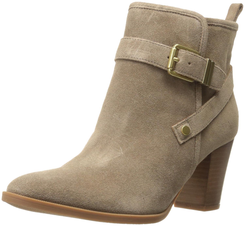 Franco Sarto Women's Delancey Ankle Bootie B01IHT4OU2 9 B(M) US|New Mushroom