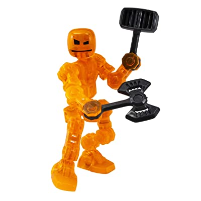Zing Klikbot Single - Cannon - Orange: Toys & Games