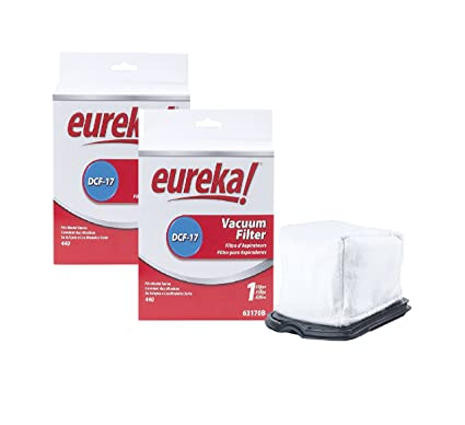 Genuine Eureka DCF-17 Filter 63170B - 2 Pack