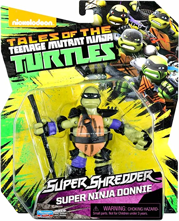 Amazon.com: teenage mutant ninja turtles Juego de 4 super ...
