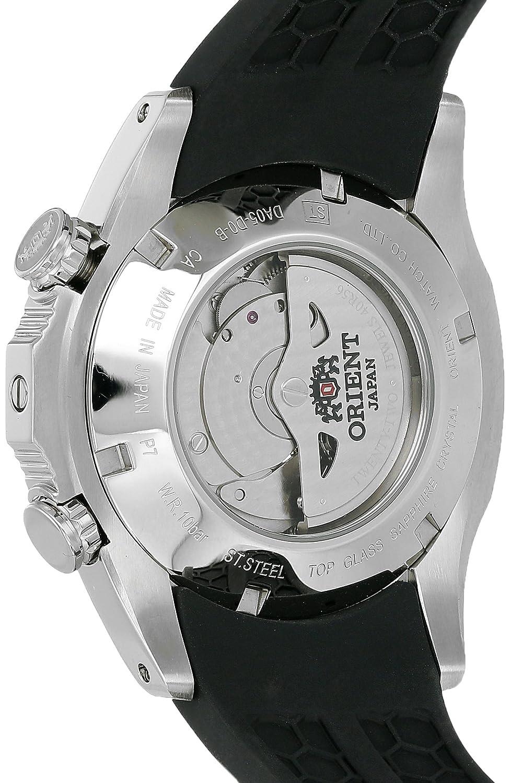 Orient Men s SDA05002B0 SpeedTech Automatic Analog Display Japanese Automatic Black Watch