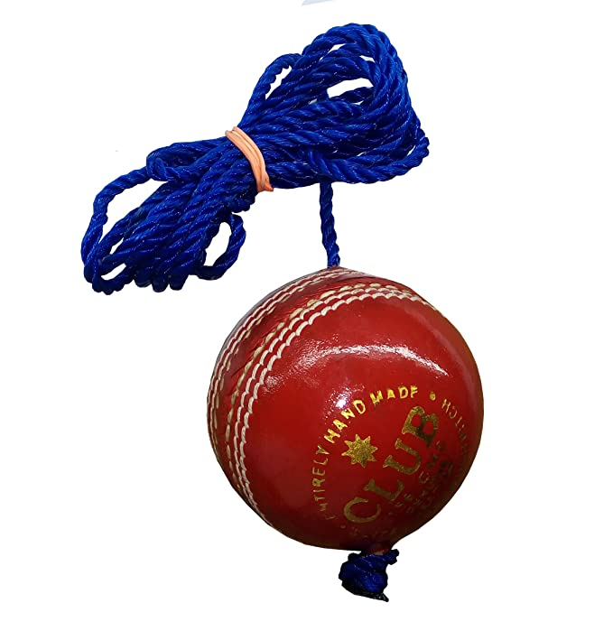 RMAX Club Leather Hanging Practice Cricket Ball Pack of 1