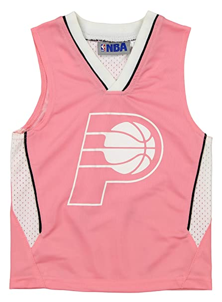 34e88b2210a Amazon.com: Outerstuff NBA Toddler Girl's Indiana Pacers Pink Jersey ...