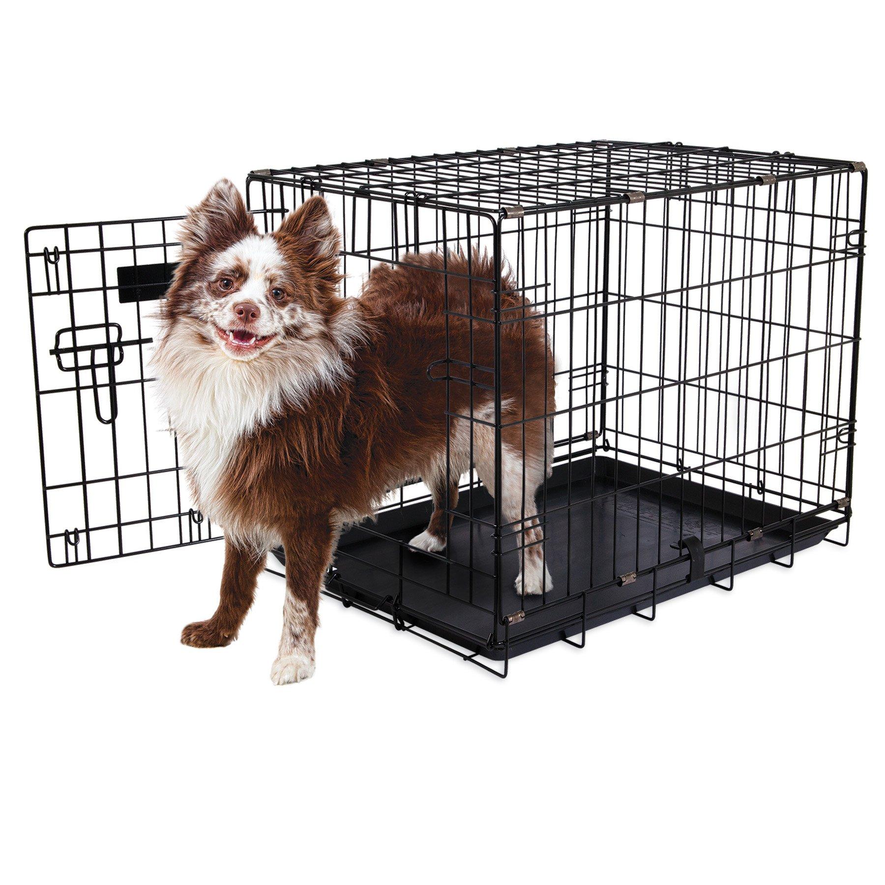 Aspen Pet Single-Door Home Training Crate, 24'' W x 17'' D x 20''