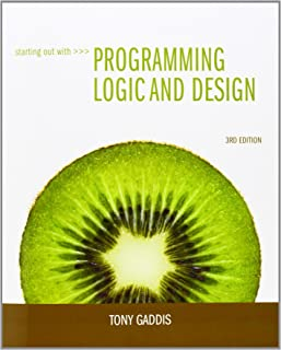 starting out with programming logic design lab manual tony gaddis rh amazon com Logic Programming Languages Visual Logic Programming