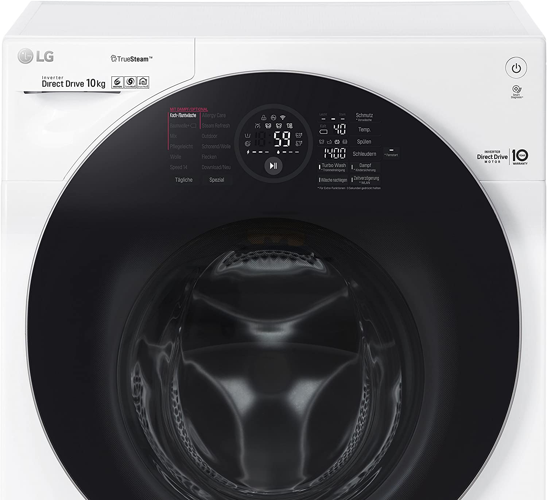 LG F14WM10GT Independiente Carga frontal 10kg 1400RPM A+++ Blanco ...