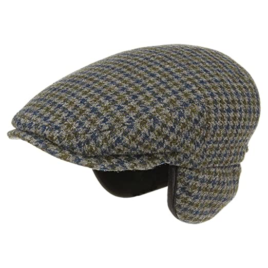 27caad025b5 Stetson Kent Wool Earflaps Flat Cap Men at Amazon Men s Clothing store