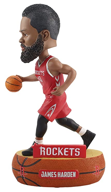 48a9e1ea81c3 Image Unavailable. Image not available for. Color  Forever Collectibles James  Harden Houston Rockets Baller Special Edition Bobblehead