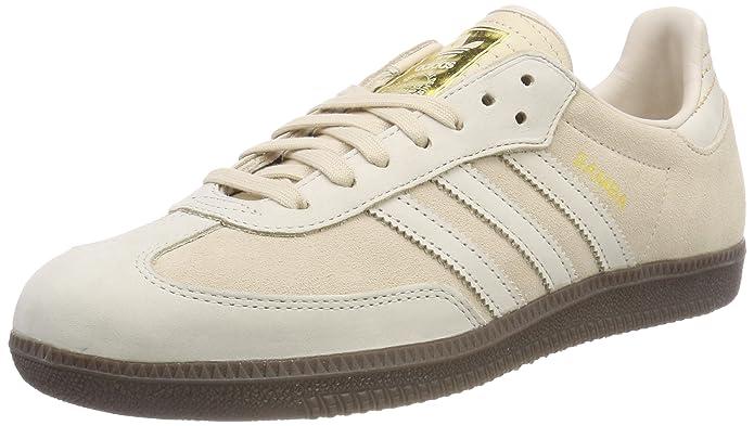 adidas Samba Schuhe Herren beige (Lino) mit beigen Streifen