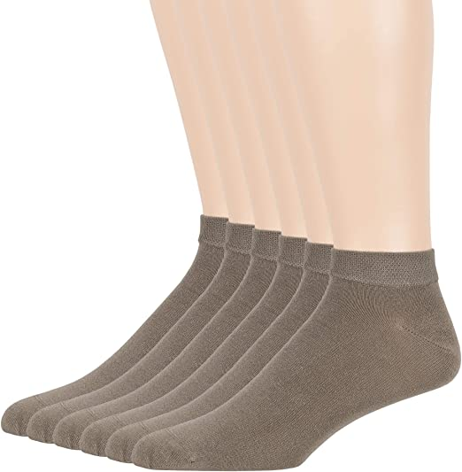 Bamboo Men sock Breathable Sock Low Quarter Thin Ankle Sock Comfort Cool soft Sock 5 Pairs