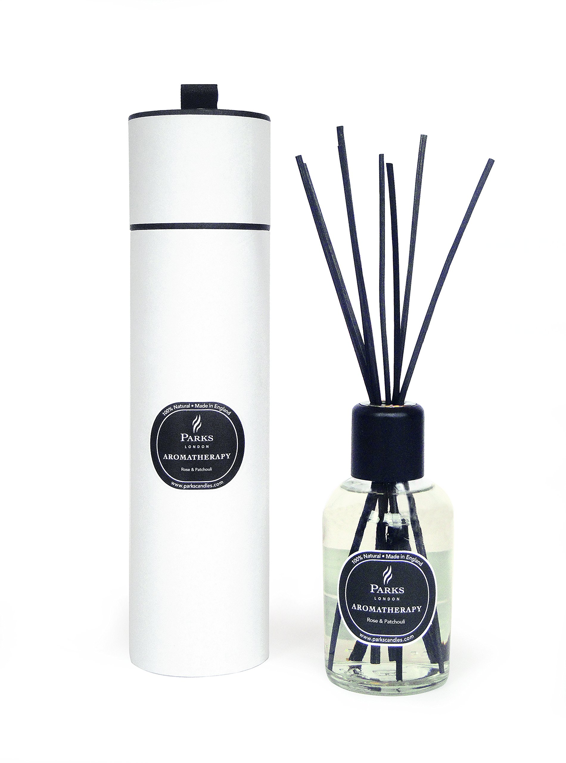 Rose and Patchouli Aromatherapy Reed Room Diffuser by Diffuser - Parks London