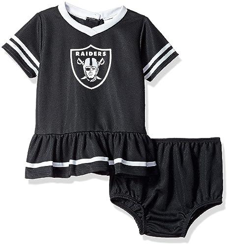 Amazon.com   NFL Oakland Raiders Baby-Girls 2-Piece Football Dress ... 78a99cd70