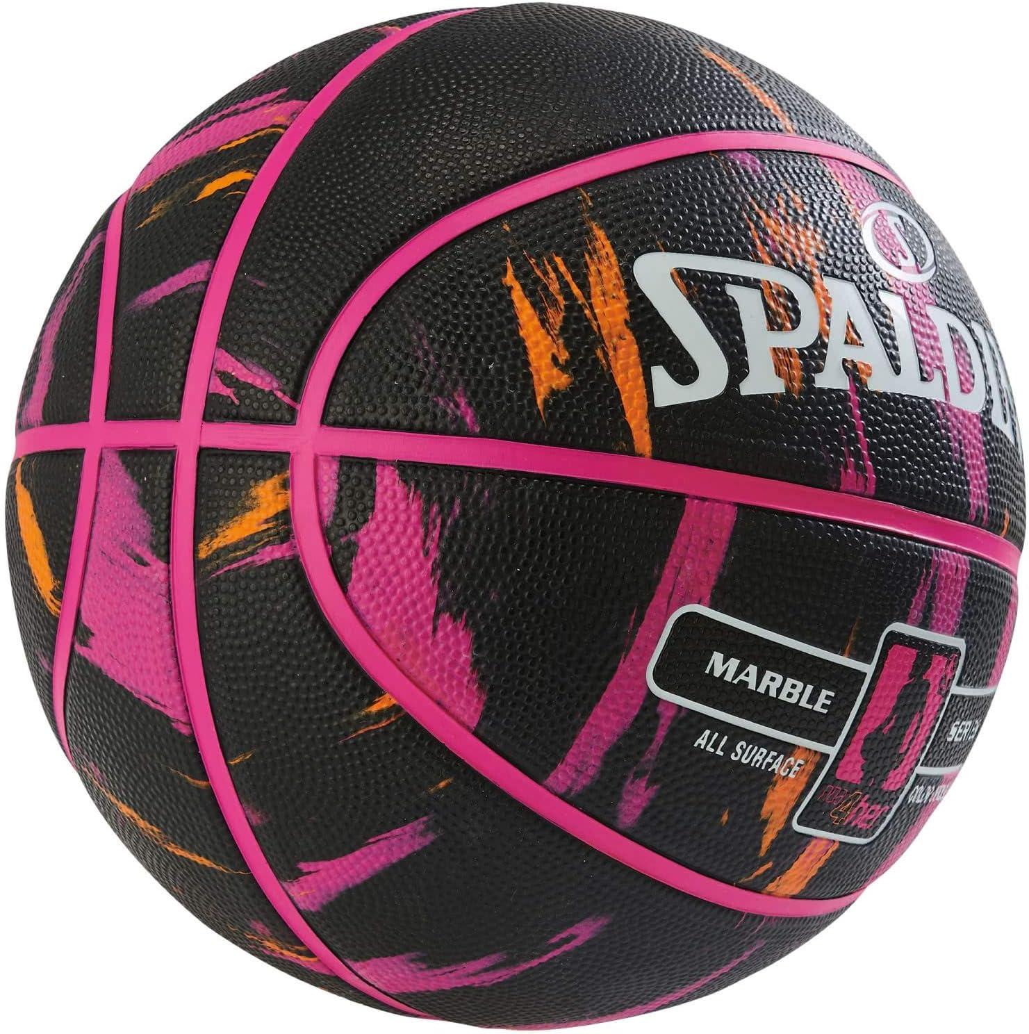 Spalding NBA Marble 4HER out SZ.6 (83-875Z) Basketballs, Juventud ...