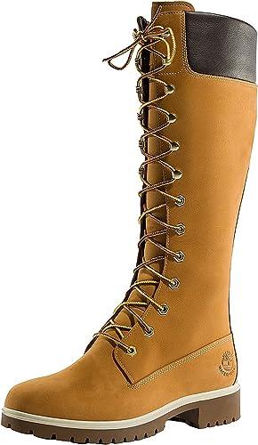 grua restante Intacto  Amazon.com: Timberland Botas altas para mujer de 14 pulgadas Premium WP:  Shoes
