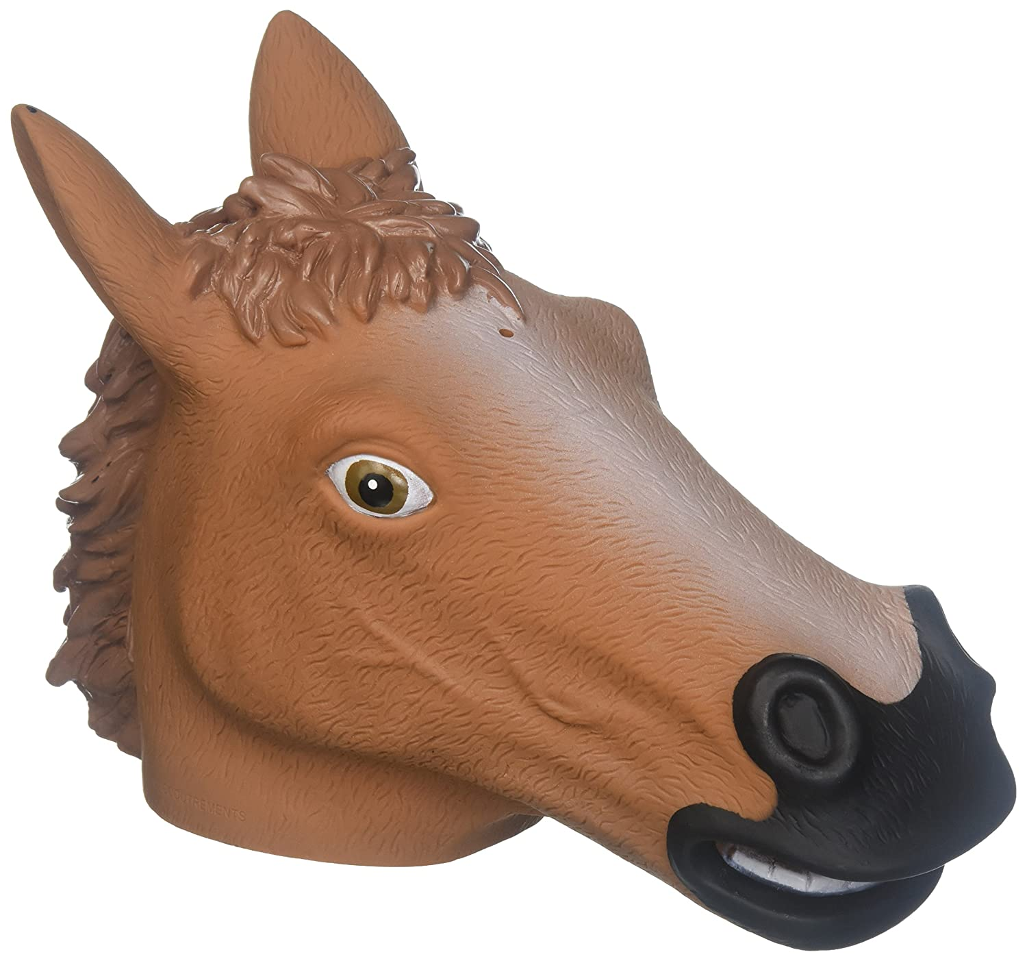 amazon com accoutrements horse head squirrel feeder toys u0026 games