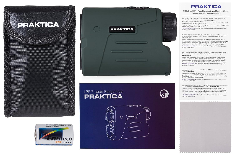 Praktica lrf 7g laser entfernungsmesser grün: amazon.de: kamera