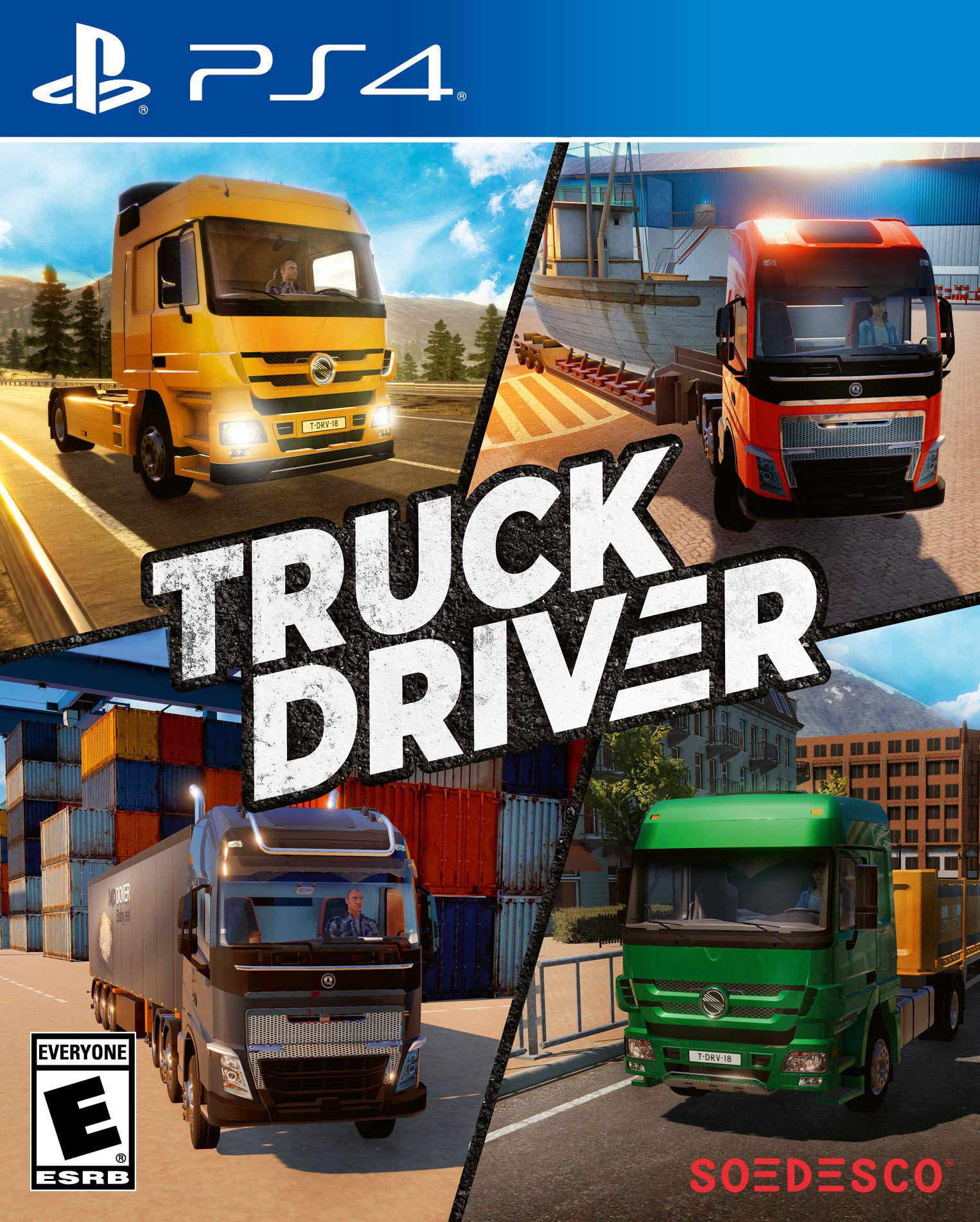 Truck Driver - Playstation 4 (fisico)  (l9lv)