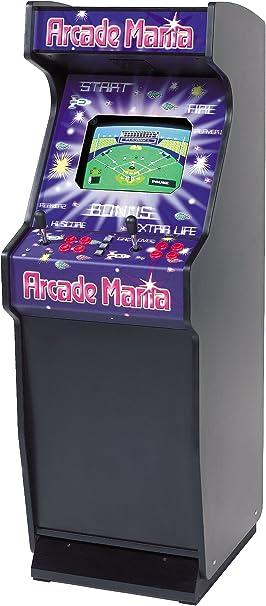 Mightymast Leisure Mania máquina Arcade Vertical Negro: Amazon.es: Deportes y aire libre