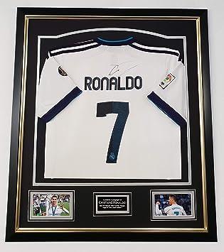 various colors ac5ec 3ddf7 www.SignedMemorabiliaShop.co.uk Cristiano Ronaldo Signed REAL MADRID Shirt  SALE SALE SALE
