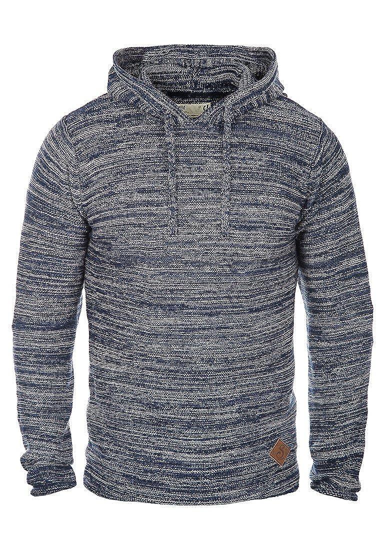 !Solid Macall Jersey De Punto Suéter Sudadera para HombreCon Capucha De 100% algodón