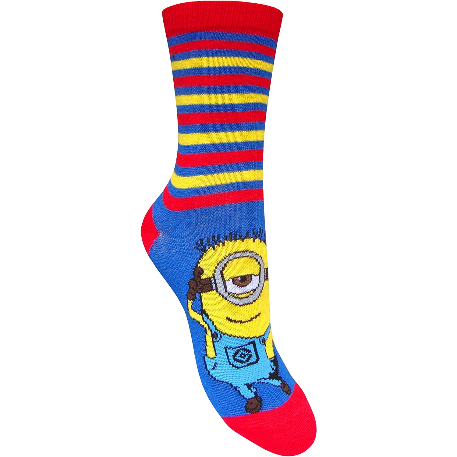 Childrens Minion Socks