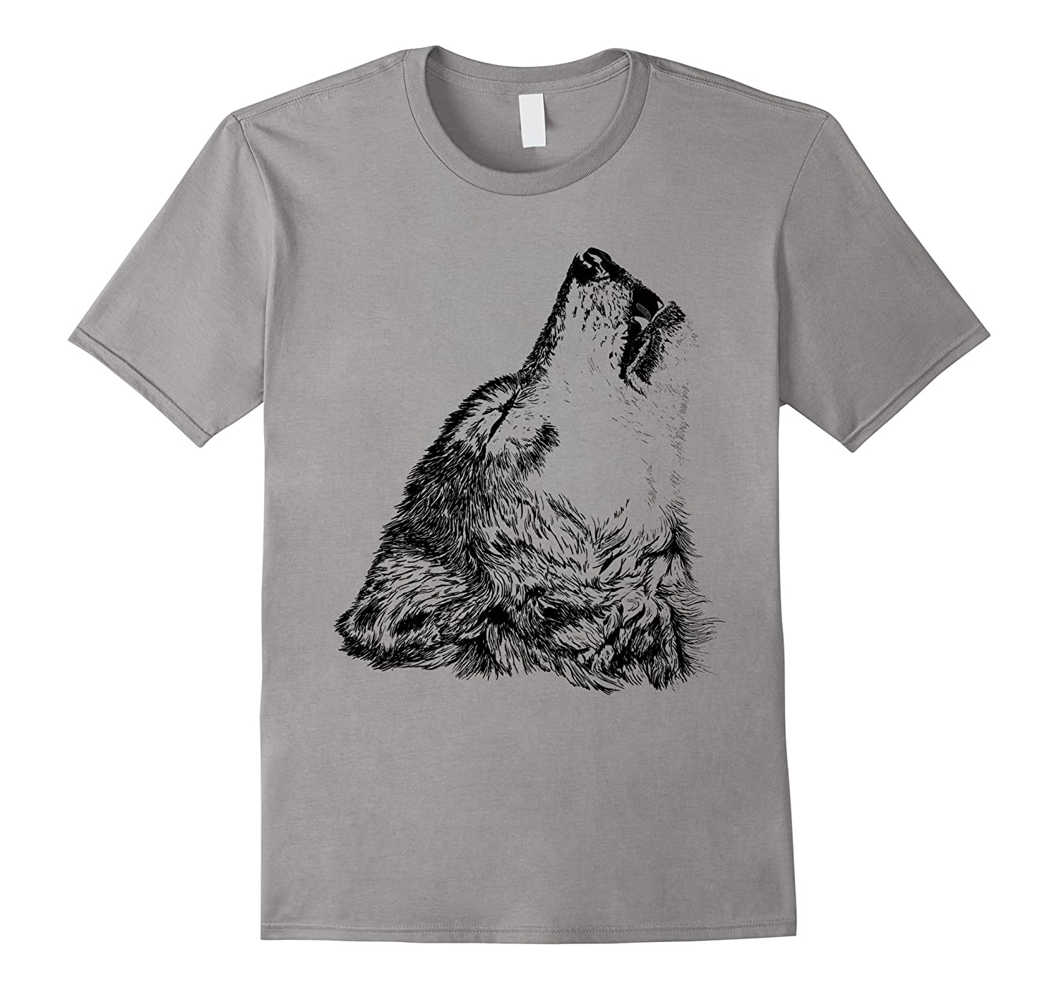 blow wolf t-shirt-TH