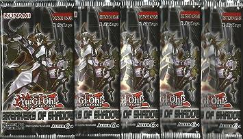 Breakers YuGiOh - 5 paquetes de cartas de Shadow of 1st ...