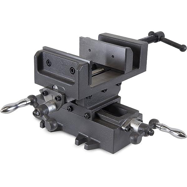 Generic NV/_1008001577/_YC-US2 Dutyres Metal Milling 2 Way Slide 6 Cross Drill l Mil X-Y Clamp Machine 2 Way Press Vise Slide Clamp Heavy Duty 6 Cros