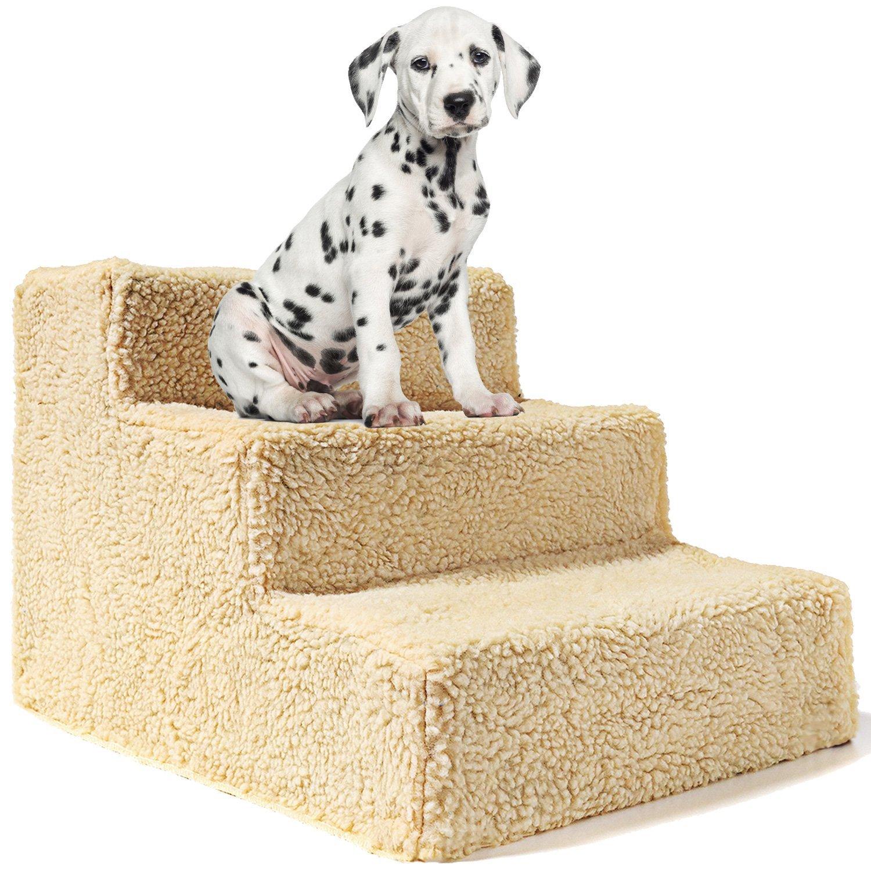 Animals Favorite - Escalera para mascotas, 3 peldaños, para perros, portátil, hasta 9 kg: Amazon.es: Productos para mascotas