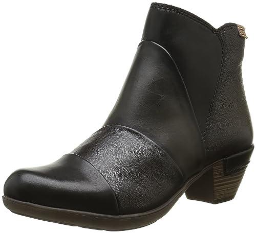 2ad3b68b3ac Pikolinos Rotterdam 902 I16 - Botas clásicas de caña Baja Botas Mujer   Amazon.es  Zapatos y complementos