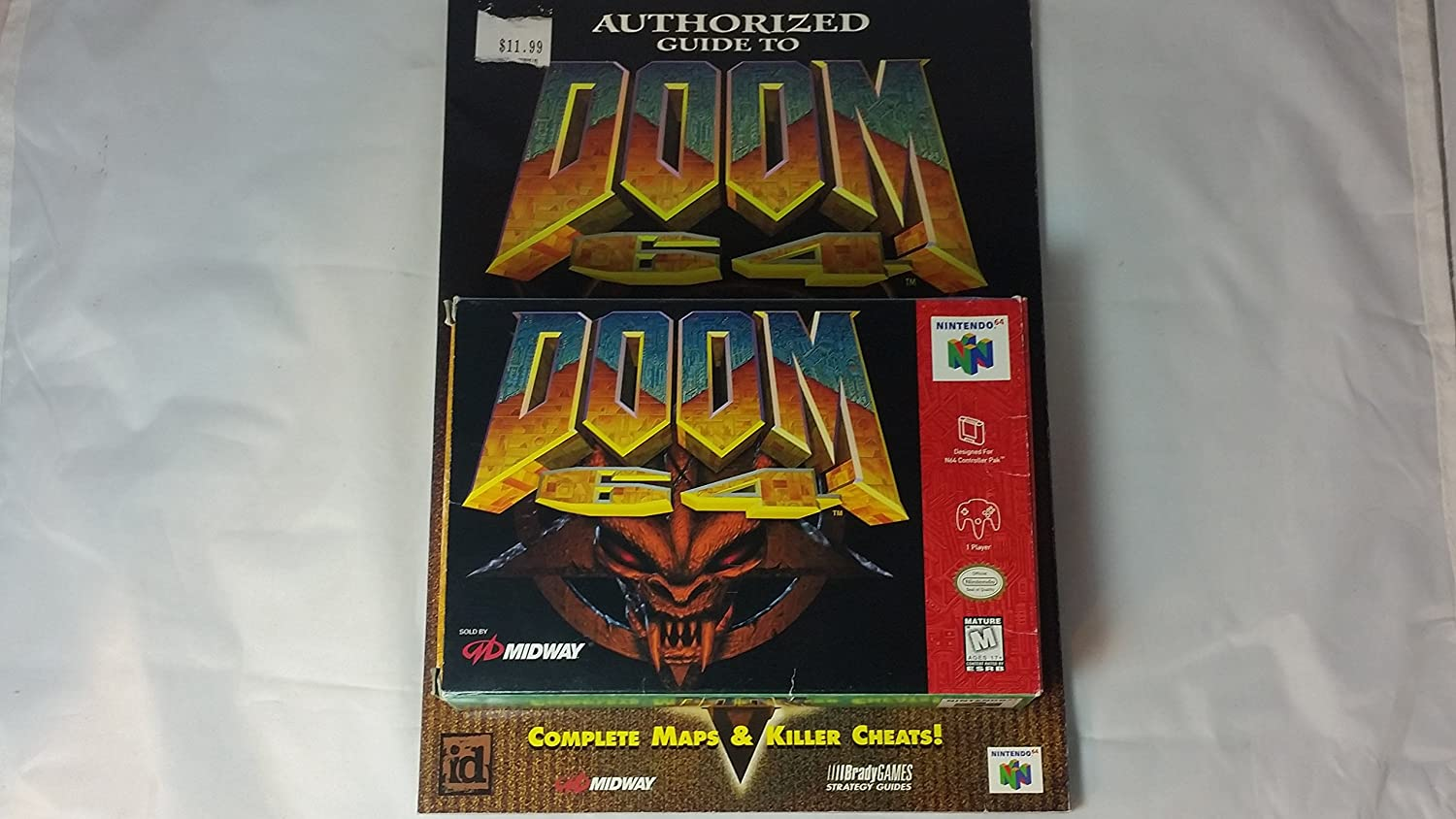 Doom 64 Nintendo 64 Us Amazon Co Uk Pc Video Games