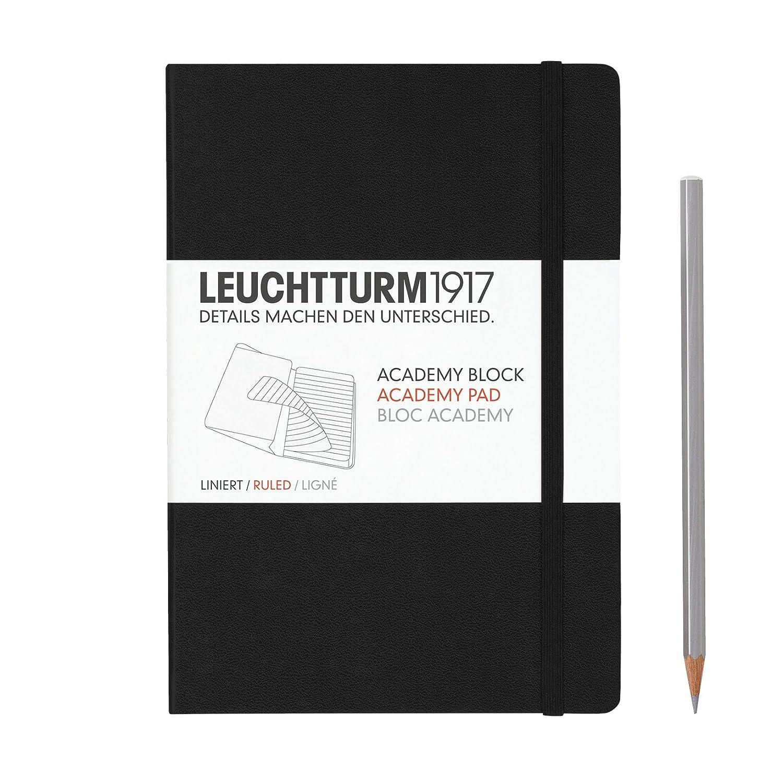 Leuchtturm 1917 Notizbuch Master Slim A4 schwarz blanko 330754